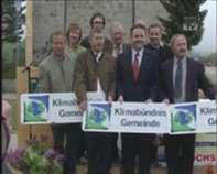 Überreichung Klimabündnistafeln in Reichenau 2009