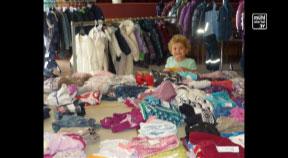 Kleidungstauschmöglichkeit beim 7. Saxner Kinderartikelbasar
