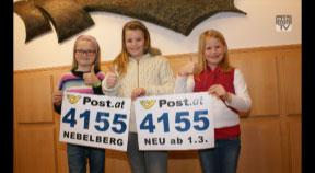 Gemeinden: Neue Postleitzahl für Nebelberg - 4155