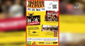 Ankündigung Tragweiner Zeltfest 2014