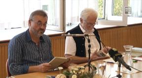 """""""Mühlviertel trifft Innviertel"""" Lesung in Luftenberg"""