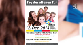 Ankündigung HLW Freistadt Tag der offenen Tür