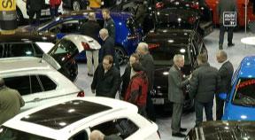 Ankündigung Freistädter Motorshow in der Messehalle