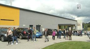 Eröffnung gläserner Schlachthof Sonnberg Biofleisch