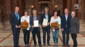Goldene Ehrenringe für Otto Pfeil und Heinrich Pfoser