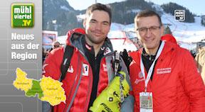 Vincent Kriechmayr - sensationelle Leistung bei der Abfahrt in Kitzbühel