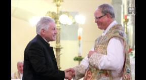 Gratulation an Abt Martin Felhofer zum 25-jährigen Jubiläum als Abt von Stift Schlägl