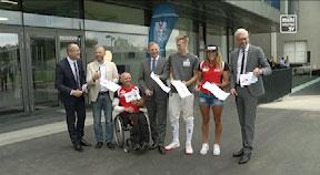 Eröffnung Olympiazentrum auf der Gugl in Linz