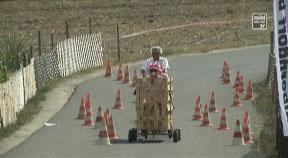 Seifenkistenrennen in Alberndorf