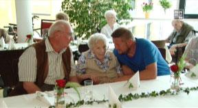 100-jährige Geburtstage im Bezirksseniorenheim Gramastetten