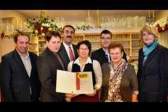 Wirtschaftsbund-Gütesiegel für Traditionsgasthaus in Oberbairing
