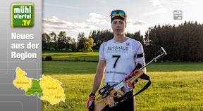 Erstes Alpencuppodest für Biathlet Jakob Ruckendorfer