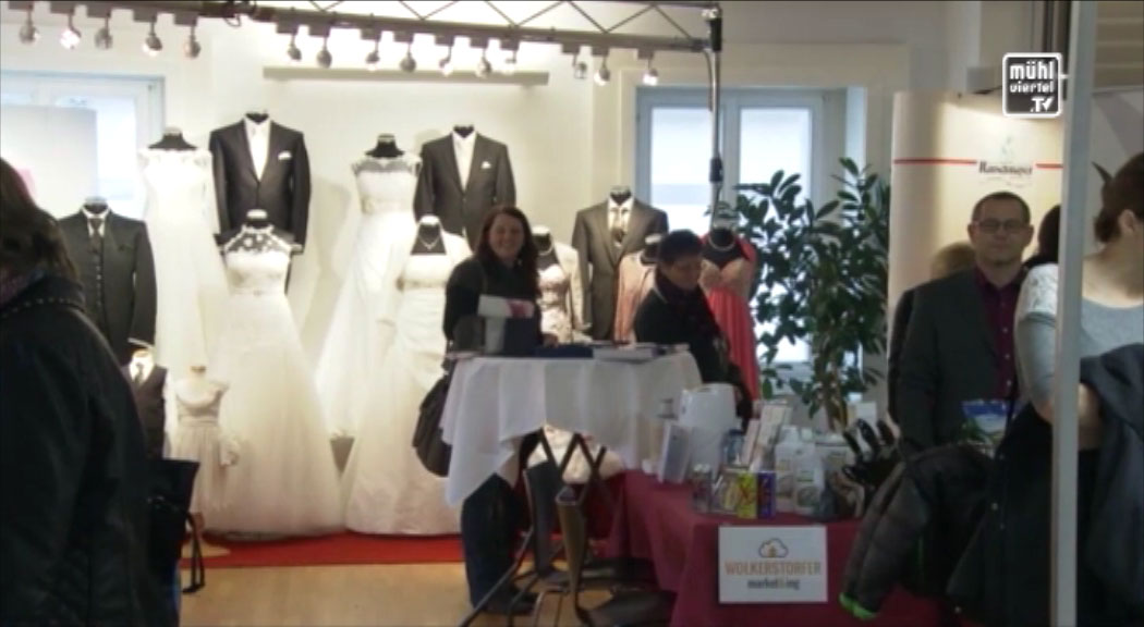 Ankündigung Hochzeitsausstellung im Schloss Hagenberg