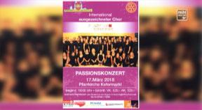 Ankündigung Rotary-Club Freistadt lädt zum Passionskonzert am 17. März, Pfarrkirche Kefermarkt
