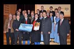 Blasmusikpreis an Freistädter Stadtkapelle