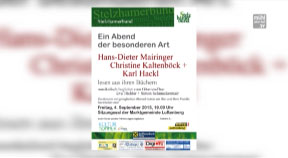 Ankündigung Luftenberger Kultursommer 2015