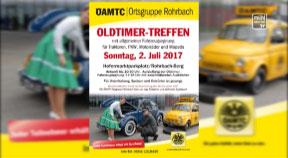 Ankündigung: Oldtimertreffen ÖAMTC in Rohrbach-Berg