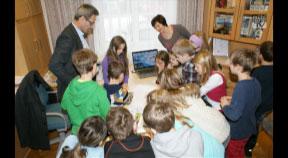 Zu Besuch am Gemeindeamt Nebelberg