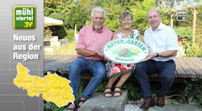 """""""Natur im Garten""""- Plakette erfreut sich großer Beliebtheit"""