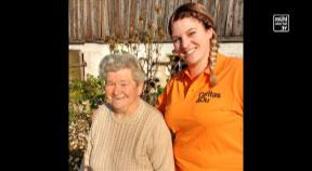 Caritas OÖ: Zuhause im Alter - Dank Mobiler Dienste der Caritas