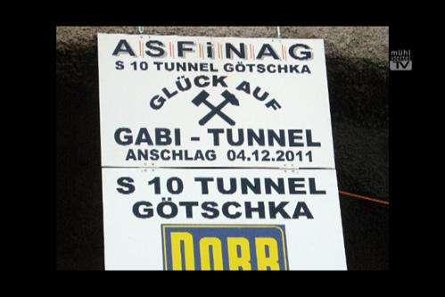 Gabi Lackner-Strauss ist Tunnelpatin