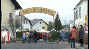 Adventmarkt in Sandl 2018