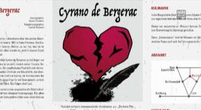Ankündigung Burgfestspiele Reichenau - Cyrano de Bergerac – Stück für Erwachsene