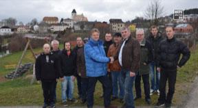 Umstellung auf Glasfaser-Technologie in Grünbach