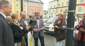 Neuer Stadtführer u. neue Fotopoints in Freistadt