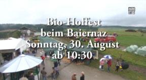 Ankündigung Hoffest Baiernaz in Summerau