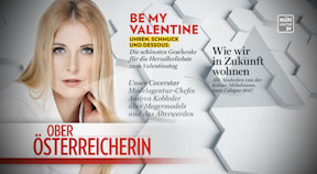 Spot Oberösterreicherin Februarausgabe
