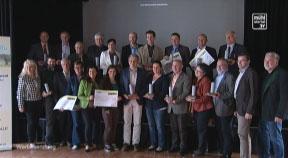 Verleihung des EUREGIO Marksteins