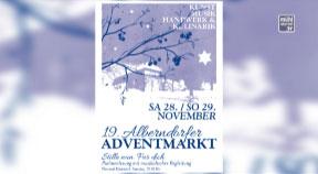 Ankündigung Adventmarkt Alberndorf am 28. und 29. November 2015