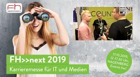 FH>>next: Die IT- und Medien-Karrieremesse FH Hagenberg