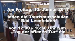 Ankündigung Tag der offenen Tür Tourismusschule Bad Leonfelden BALETOUR