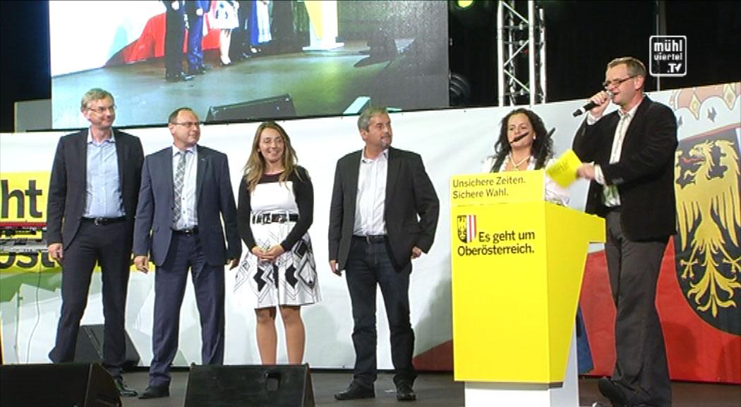 ÖVP Bezirkskundgebung in Gallneukirchen