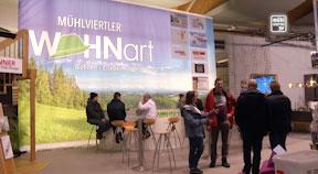 Ankündigung Mühlviertler WOHNart auf der Baumesse Freistadt 2020
