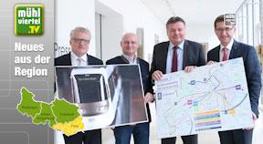 Attraktivierung und Ausbau des öffentlichen Schienenverkehrs in und um Linz