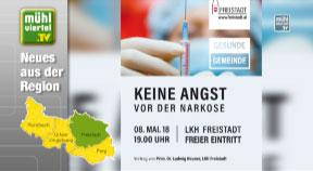 Keine Angst vor der Narkose: Vortrag im LKH Freistadt
