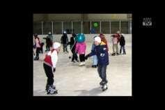 Eislaufen ohne Eis in Freistadt