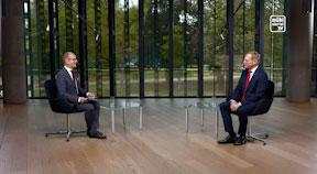 Aktuelles Interview mit Landeshauptmann Stelzer
