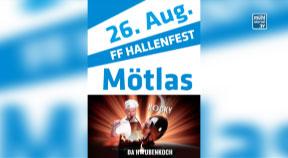 """Ankündigung Hallenfest FF Mötlas mit Premiere """"Wochenteiln"""" von Rocky Roman"""