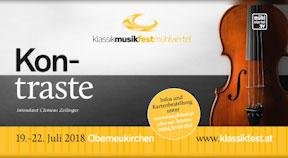 Ankündigung KlassikMusikfest Oberneukirchen