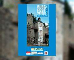 Ankündigung Reichenauer Burgfestspiele