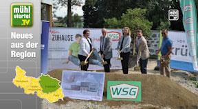 Spatenstich KIGA Sonnenhaus Freistadt
