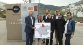 OÖ Landtag in Rohrbach – Besuch Firma Neuburger