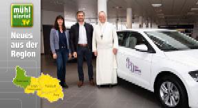 Stift Schlägl stiftet VW Polo der Caritas