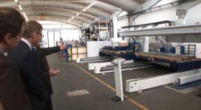 Zu Gast bei der Firma Biohort in Neufelden