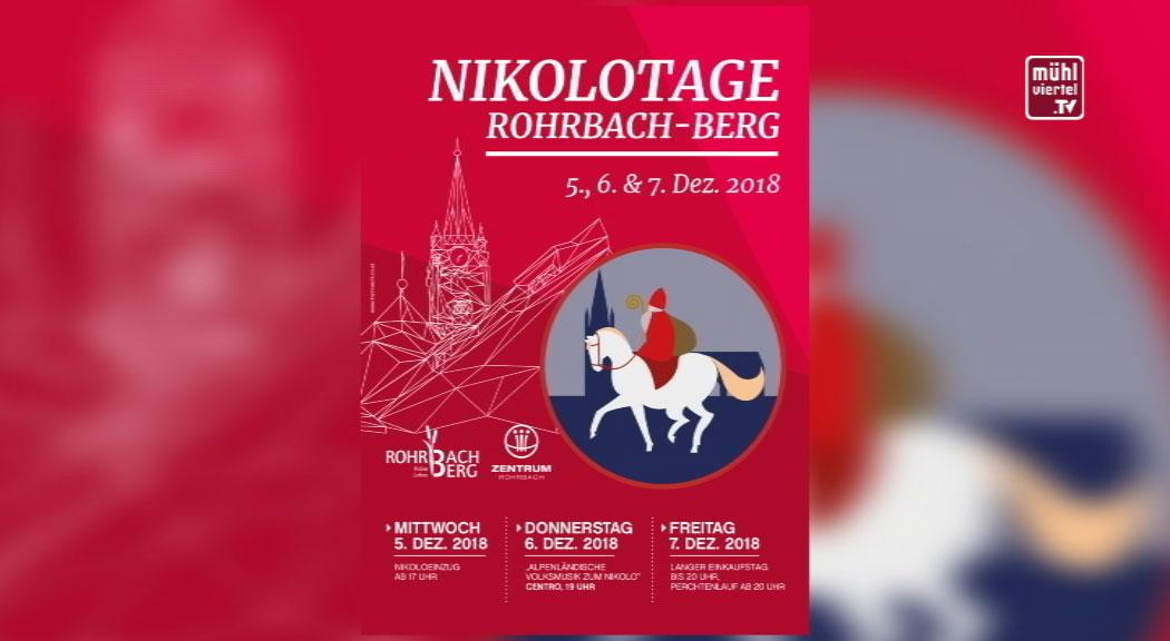 Ankündigung Nikolotage Rohrbach-Berg