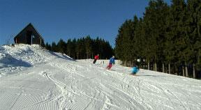 Schifahren mit Rainer Schönfelder am Sternstein
